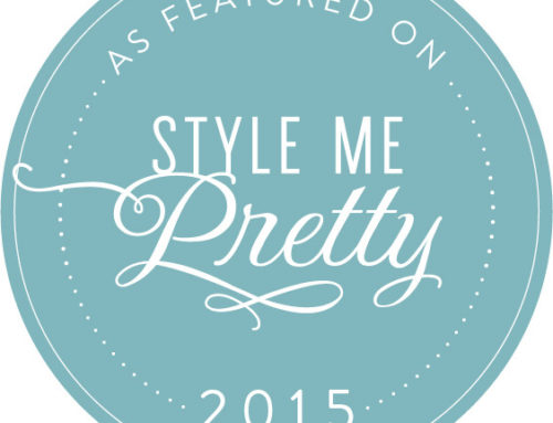 Style Me Pretty! Well, don't mind if we do!